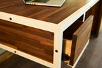 Kopenhagen Office Desk, Leftside Drawer