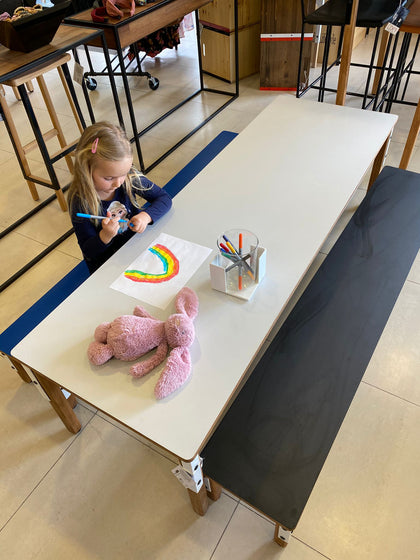 Kids Set table & 2 benches