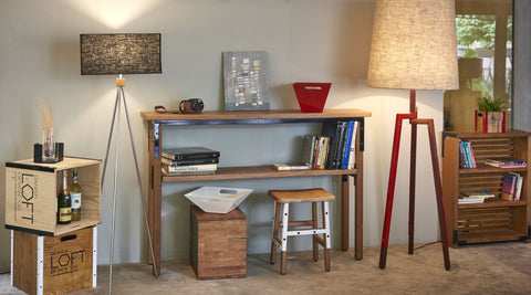 Open kitchen side table