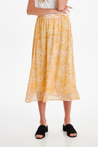 Yellow Flowers Skirt