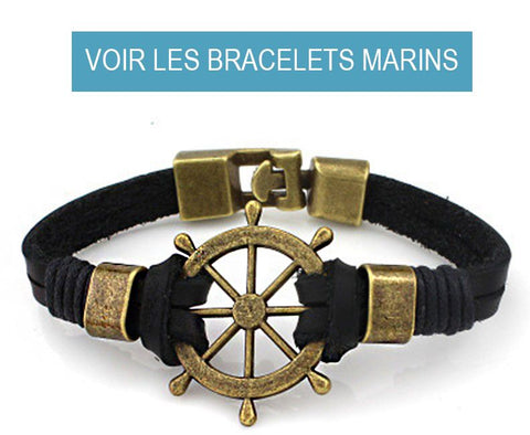 Collection Bracelets Marins