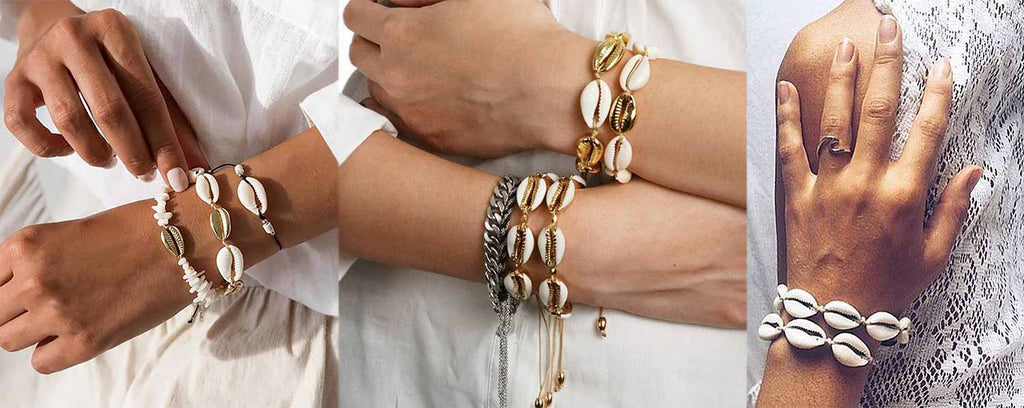 bracelet coquillage chic