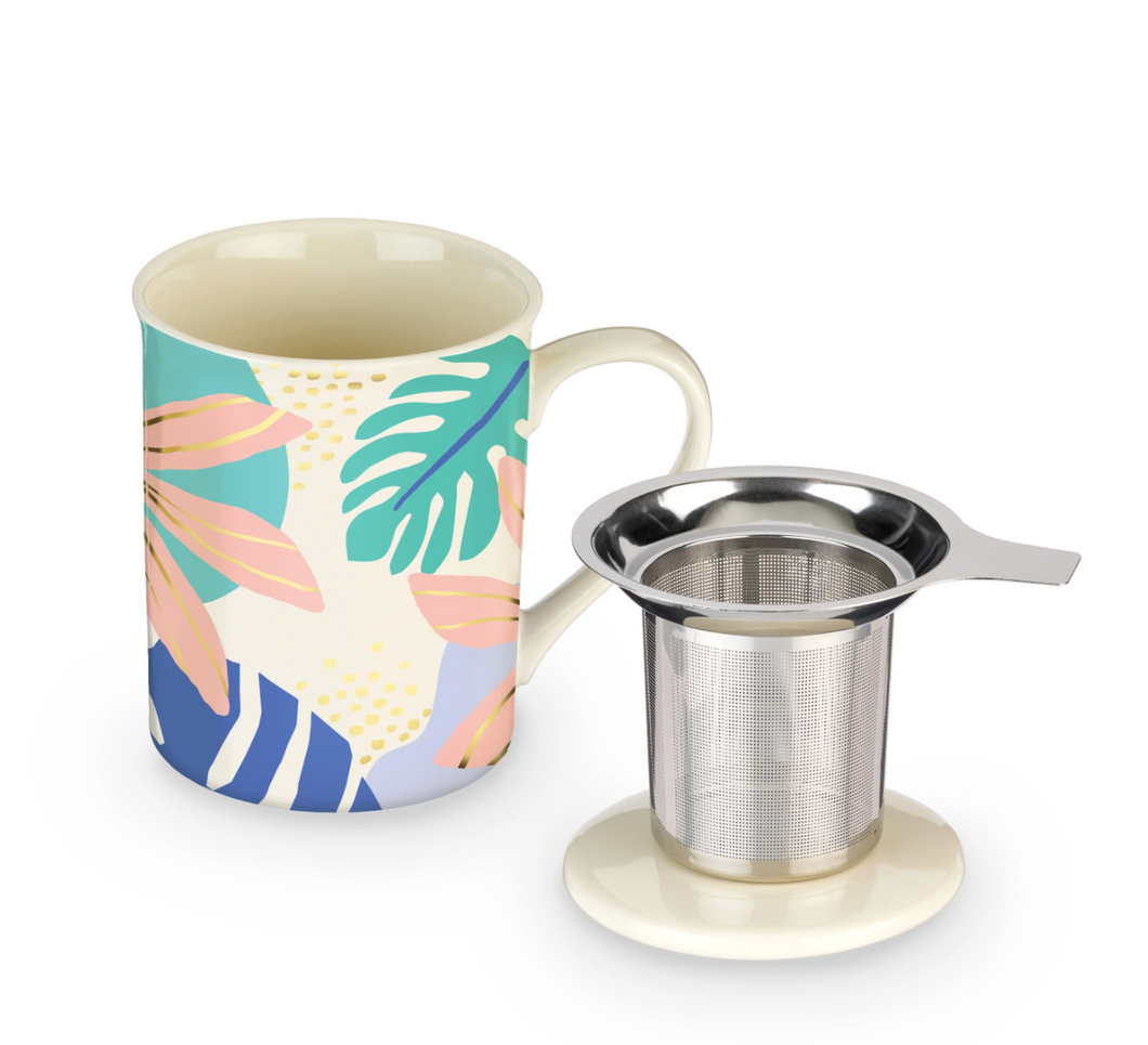 Into the Tropics Infuser Mug