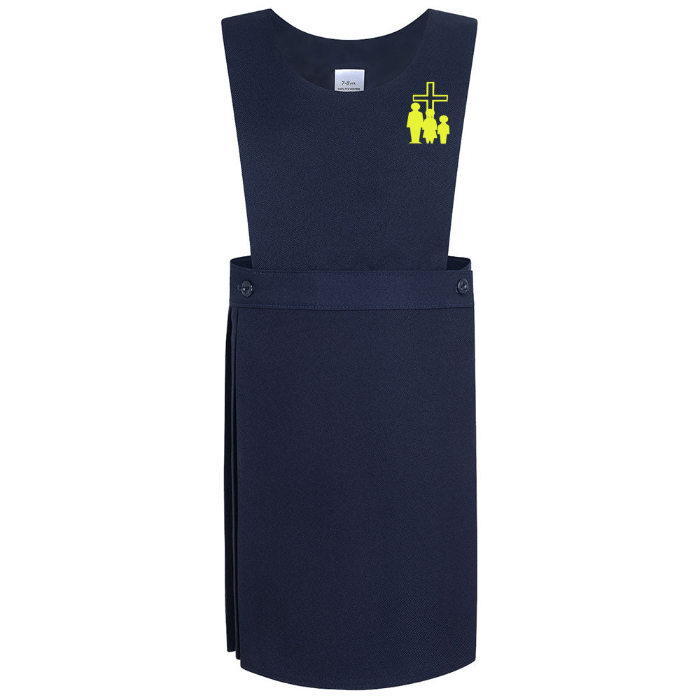 HF KS1 Navy Pinafore