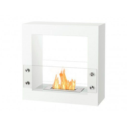 Linear Modern Stand-Alone Fireplace