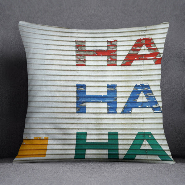 "Whimsical ""Hilarious"" Throw Pillow"