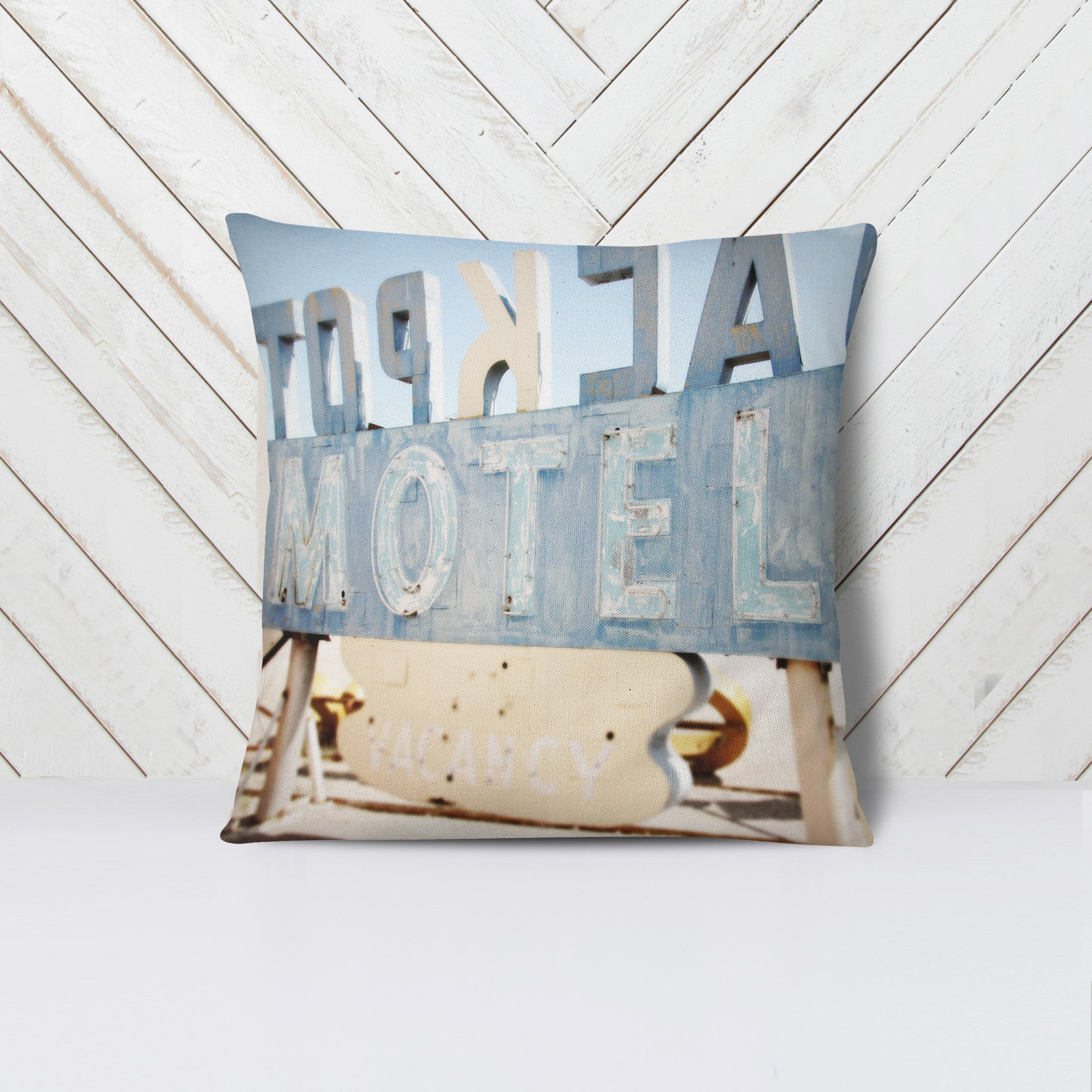GLAM + MOTEL Throw Pillow