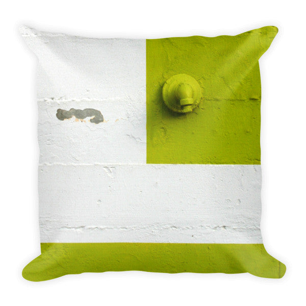 """Urban Abstract"" Pillow"