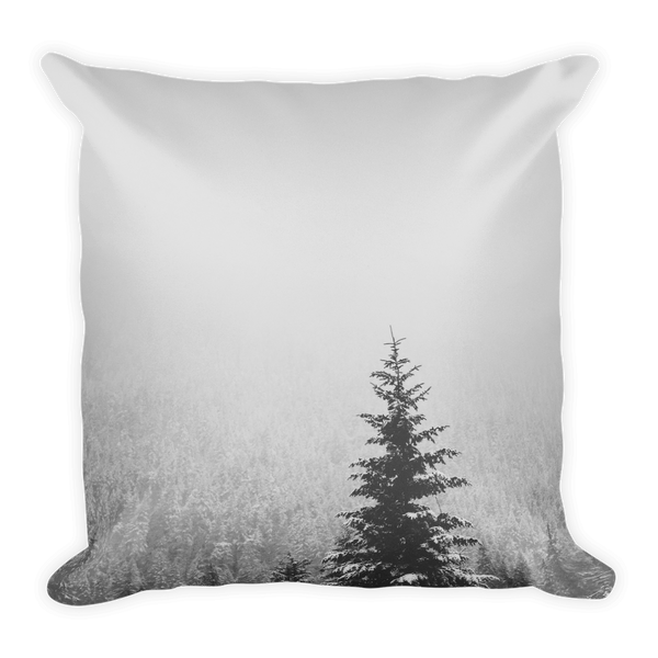 """Winter Feelings"" Square Pillow"