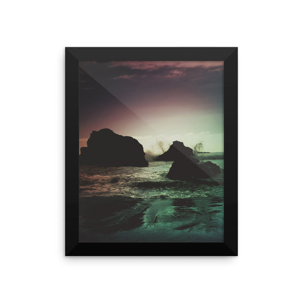 """Oregon Coast Dreams"" framed photo print"
