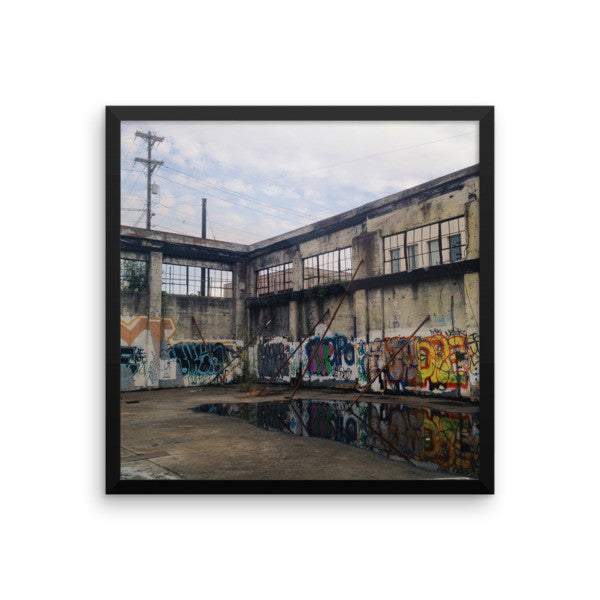 "Framed ""Urban PDX"" Print"