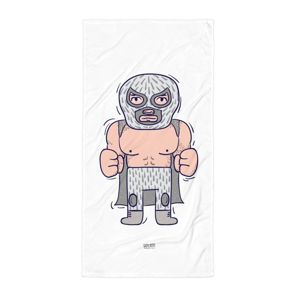 Luchador Beach Towel - Pop You