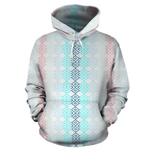 Mexican pattern pastel color hoodie - Pop You