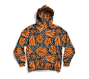Monarch butterfly Unisex Hoodie - Pop You