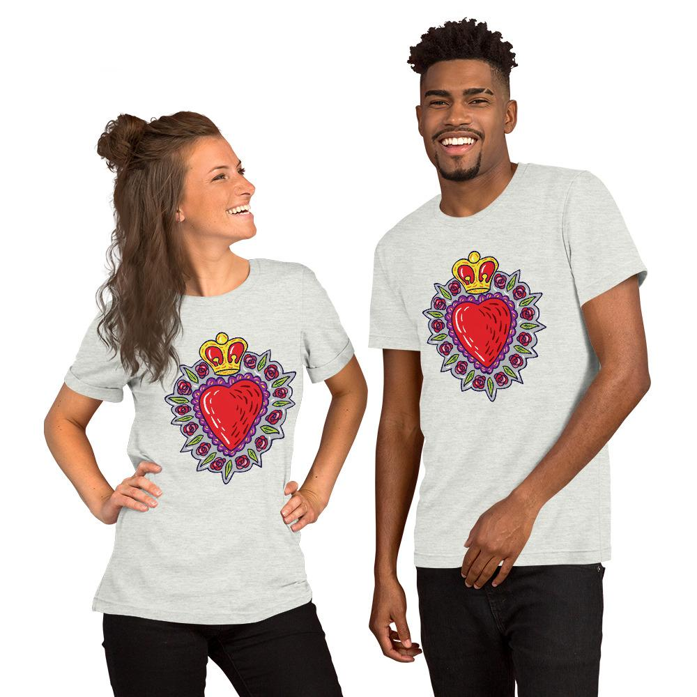Sacred heart Short-Sleeve Unisex T-Shirt - Pop You