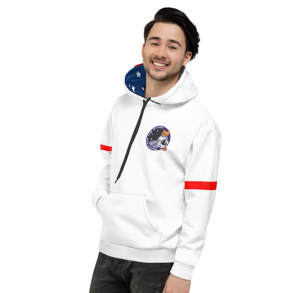 Space Cat Astronaut Unisex Hoodie - Pop You