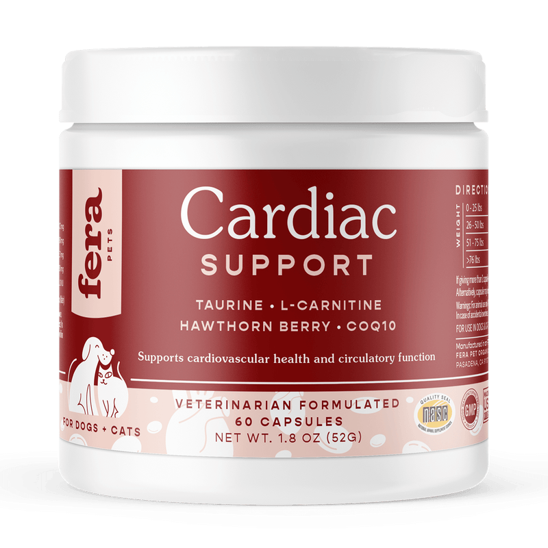 Cardiac Support for Dogs and Cats | 60ct