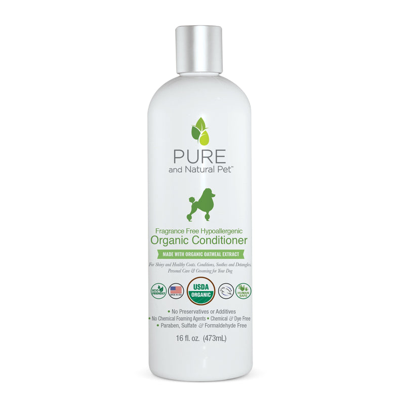 Fragrance-Free Hypoallergenic Organic Conditioner | 16 fl oz - wellness.global