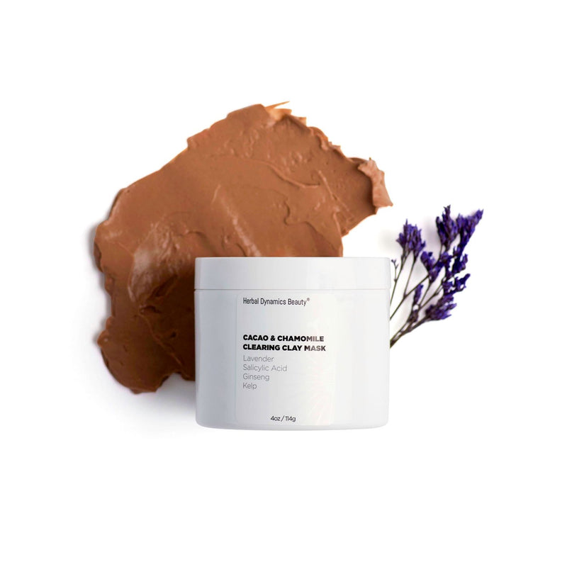 Intense Detox® Cacao & Chamomile Clearing Clay Mask | 4 oz - wellness.global
