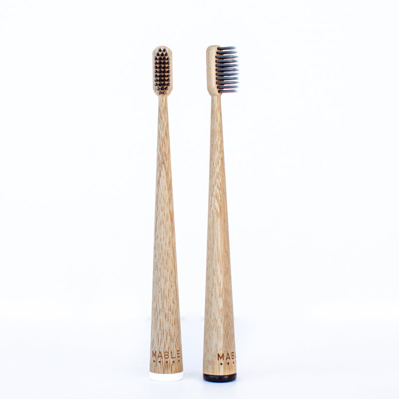 Adult Two Pack Toothbrush (Charcoal Adition)