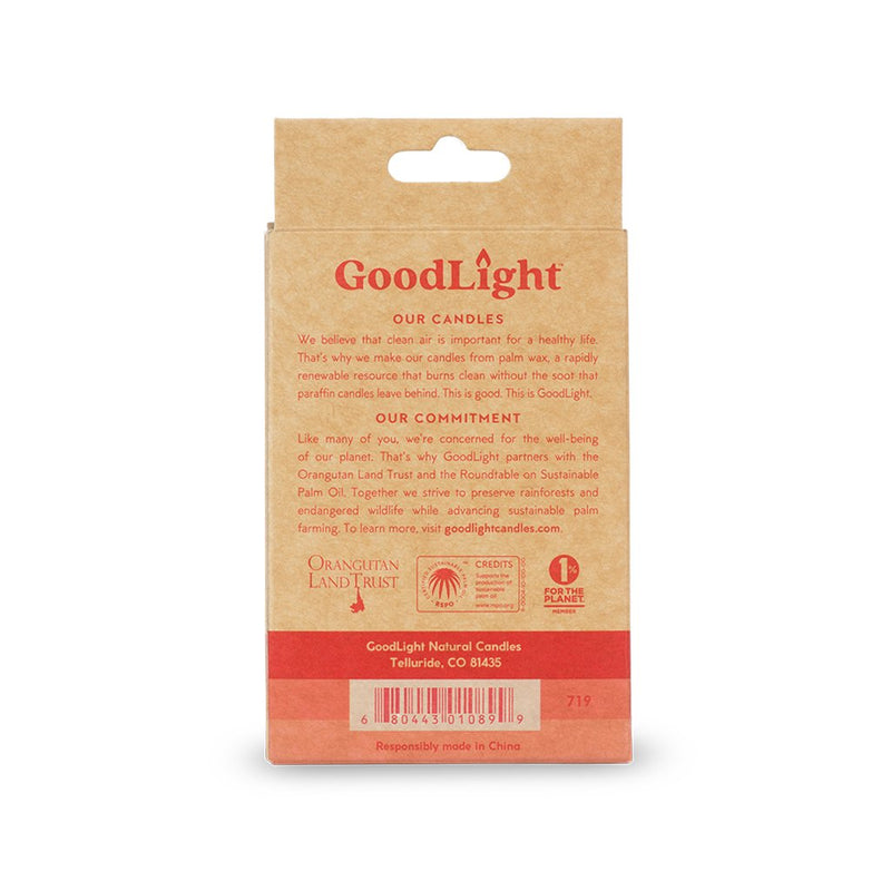 GoodLight | Fig Grapefruit Tea Lights | 6-count