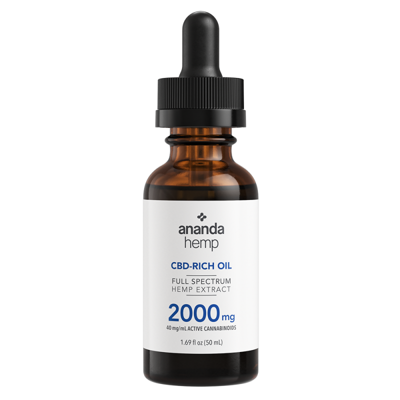CBD Oil| Full Spectrum | 2000 mg - wellness.global