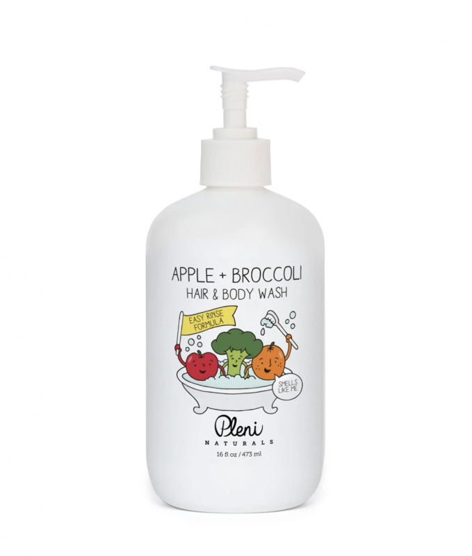 Hair & Body Wash | Apple + Broccoli | 16oz - wellness.global