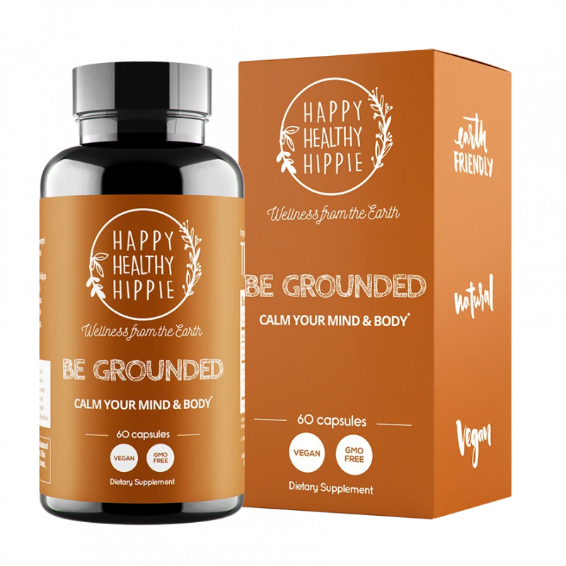 Herbal & Mineral Supplement | Be Grounded | 60 Capsules - wellness.global