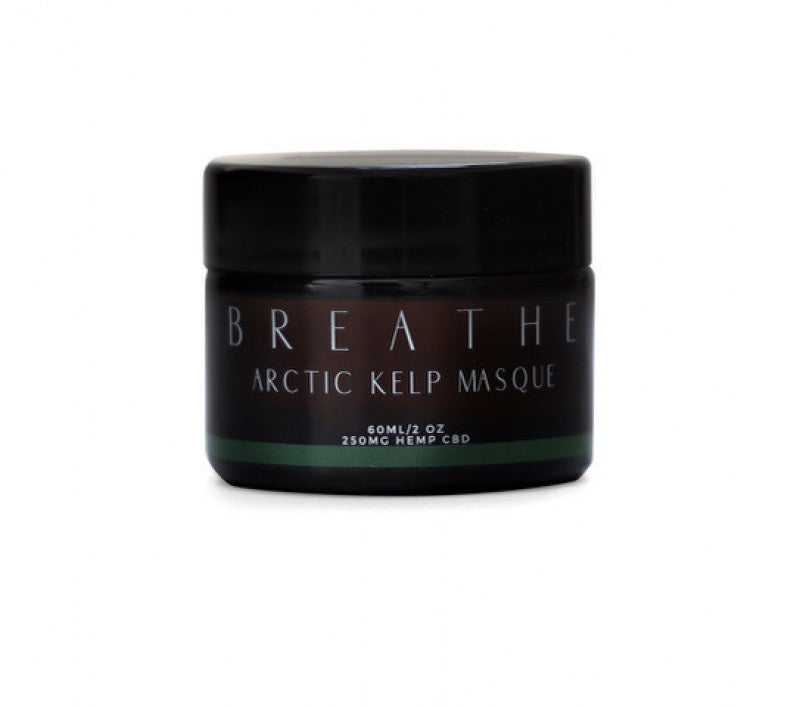CBD Breathe Arctic Kelp Facial Masque | 250MG - wellness.global