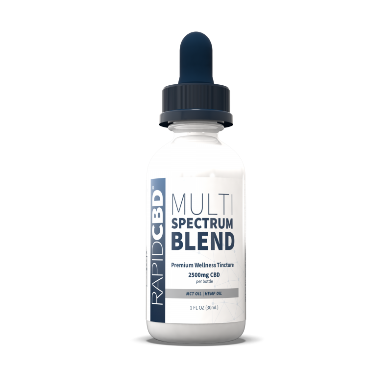 CBD Oil | Multi Spectrum Blend | 2500MG - wellness.global