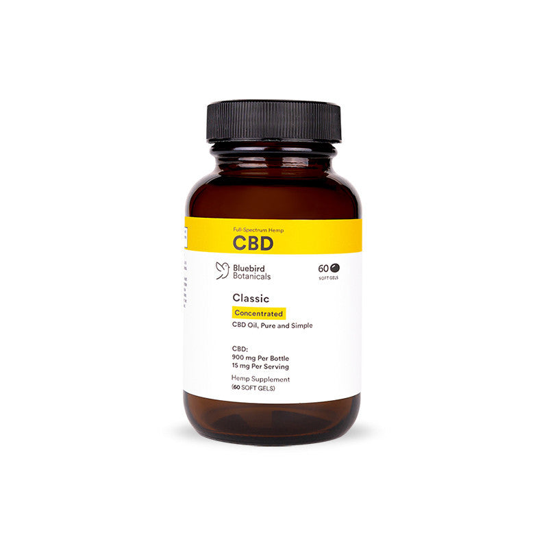 CBD Softgel Concentrated | 15 mg | 60 softgels - wellness.global