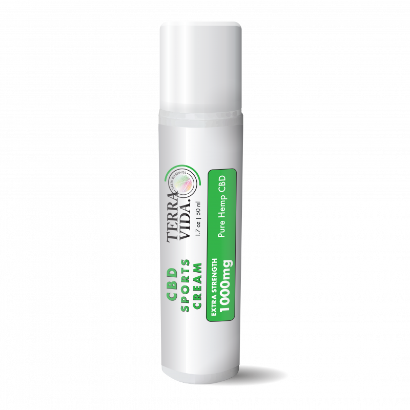 CBD Sports Cream | 1000MG | 1.7oz. - wellness.global