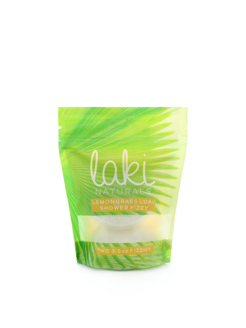 Lemongrass Luau Shower Fizzy (Qty. 2 pcs.) - Case Pack 6 each | 7oz - wellness.global