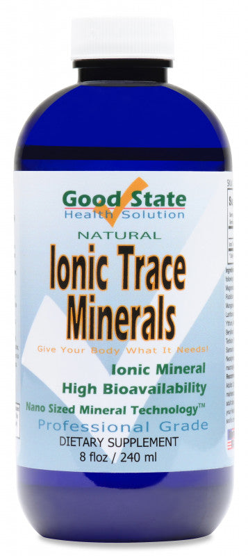 Liquid Ionic Trace Minerals 8 oz - wellness.global