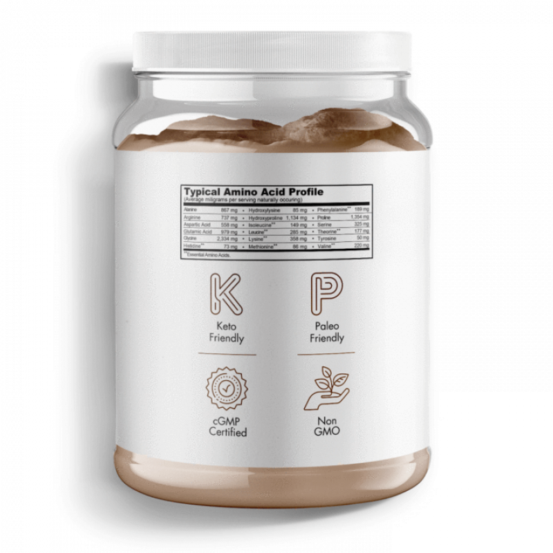 Multi Collagen Peptides Chocolate Flavor | 18.16 oz - wellness.global