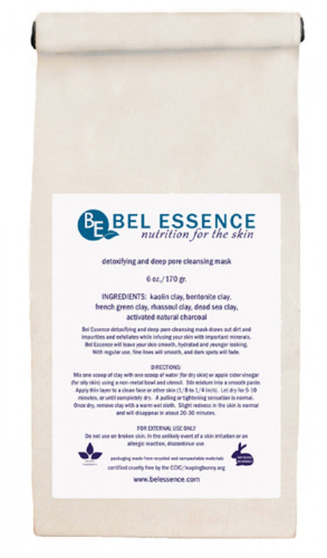 Natural Detoxifying and Deep Cleansing Facial Mask - wellness.global