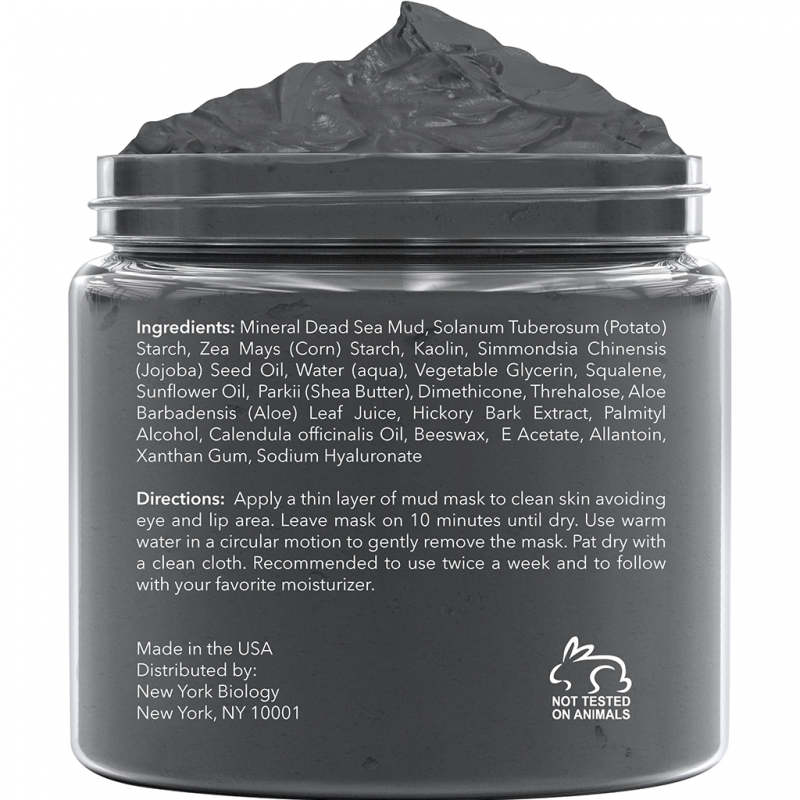 New York Biology Dead Sea Mud Mask - wellness.global