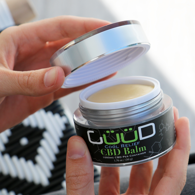 CBD Cool Relief Balm | Tub | 1000MG