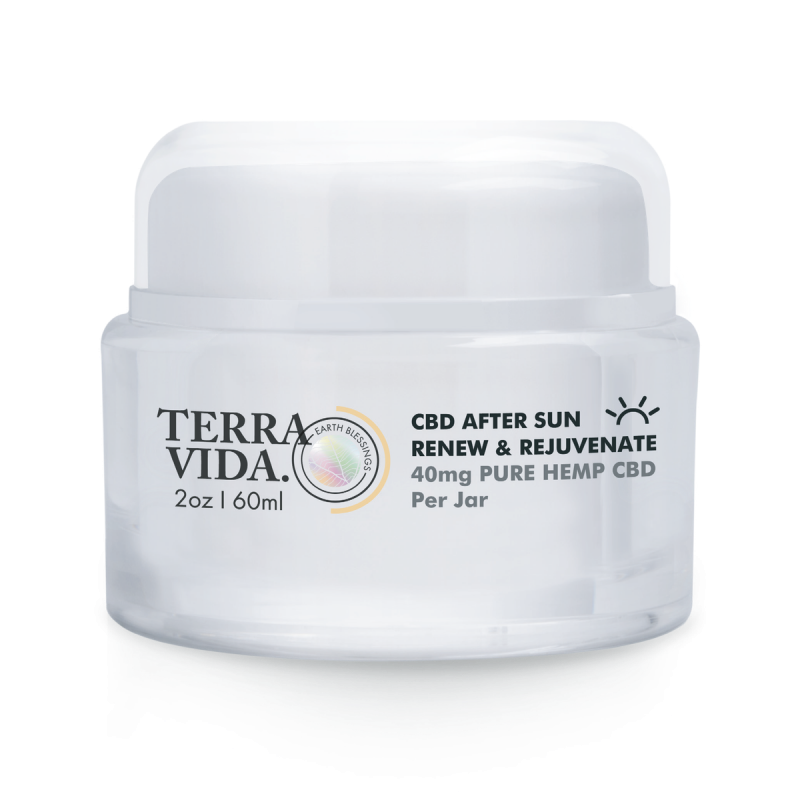 CBD After Sun Renew & Rejuvenate | 60ML | 2oz. - wellness.global