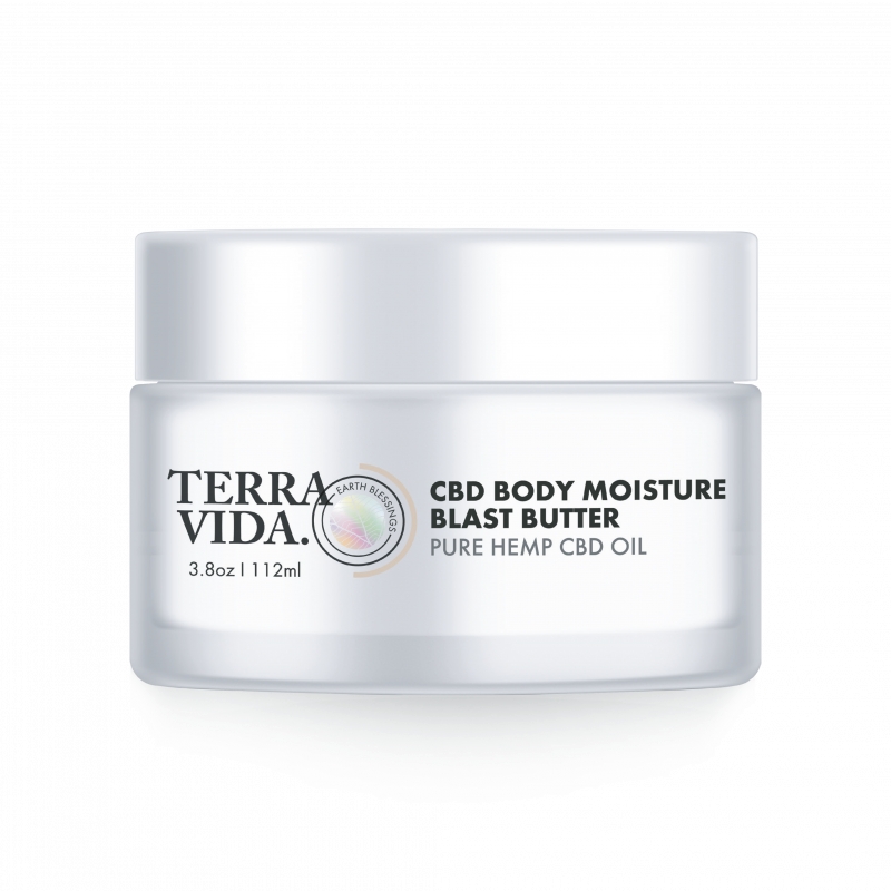 CBD Body Moisture Blast Butter | 112ML | 3.8oz. - wellness.global