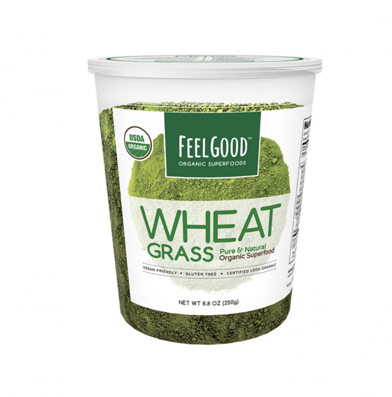 Wheat Grass Powder | Organic | 8.8 oz - wellness.global