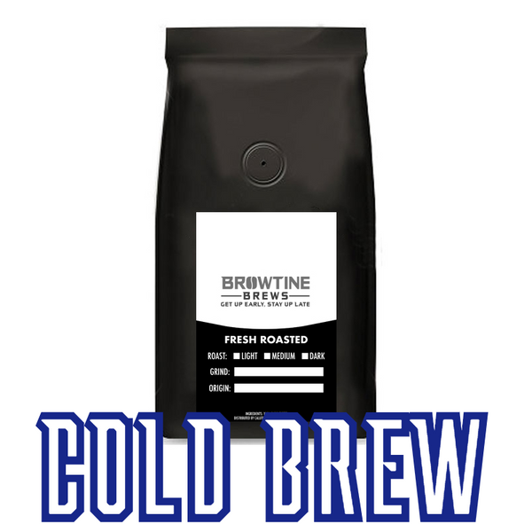 BROWTINE BREWS Cold Brew Coffee