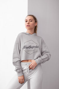 Women's Cropped Hoodie - Storm