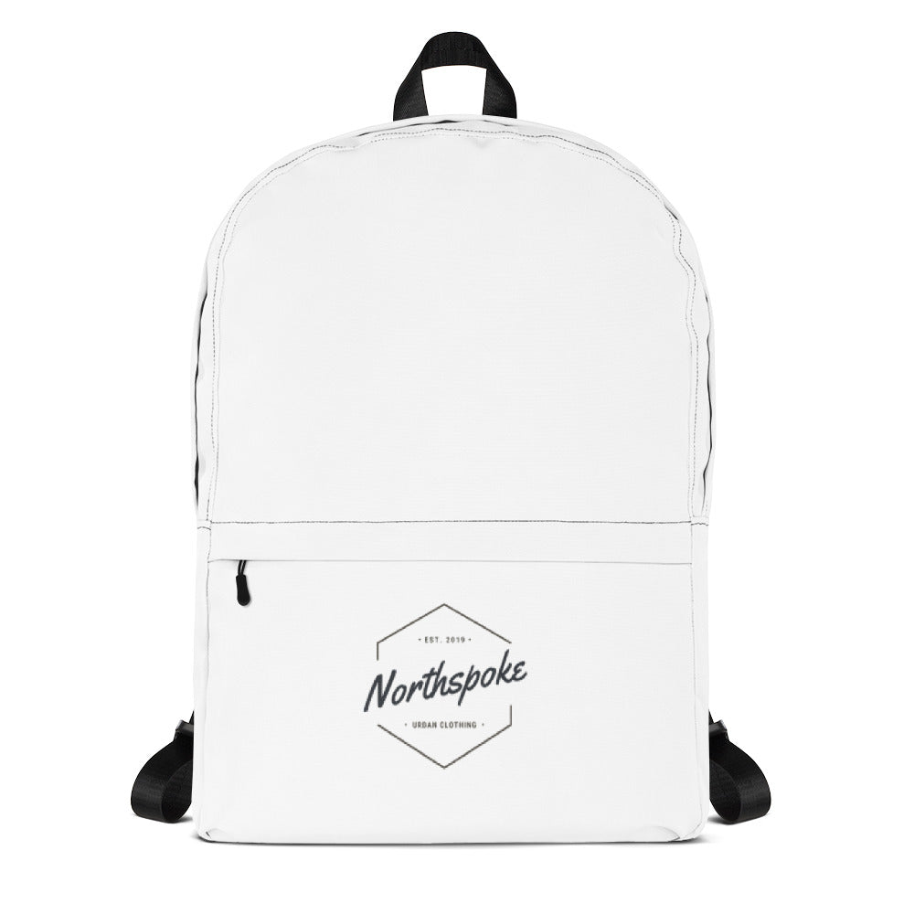 EST.2019 Classic Backpack - White