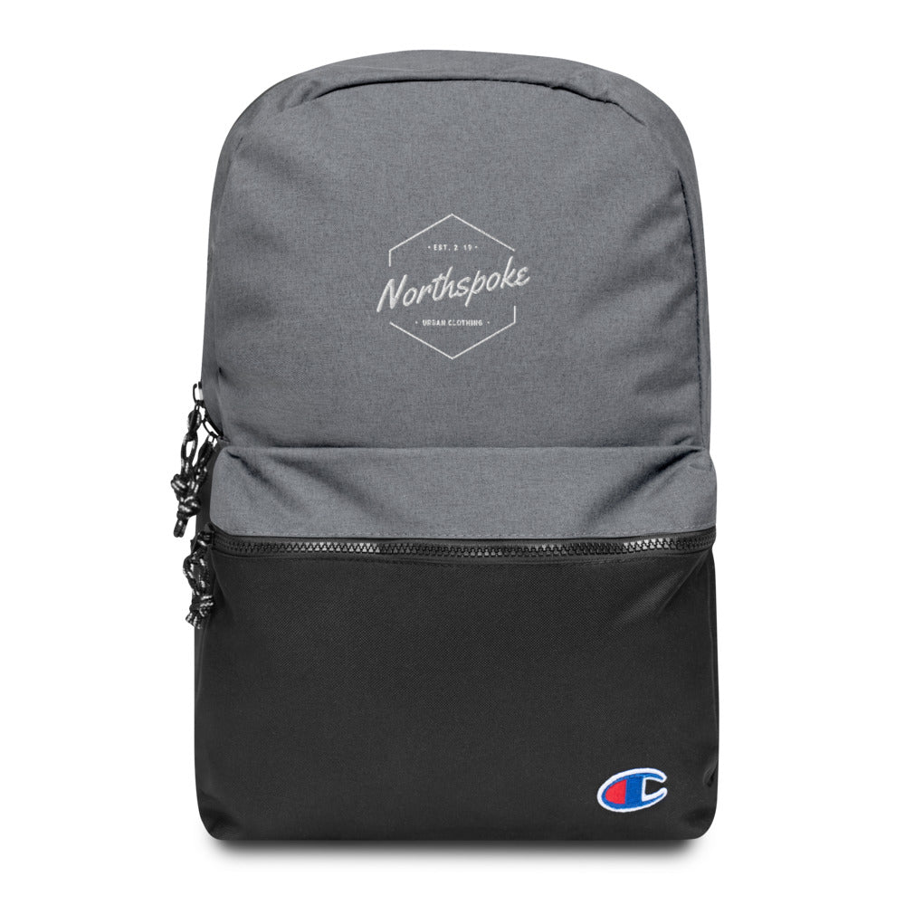 EST.2019 Embroidered Backpack