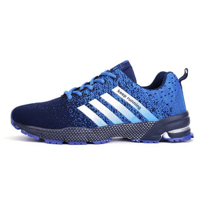 Mens Spring Sports Trainers - Blue