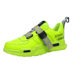 Mens Chunky Hi-Tops - HiVis Effect
