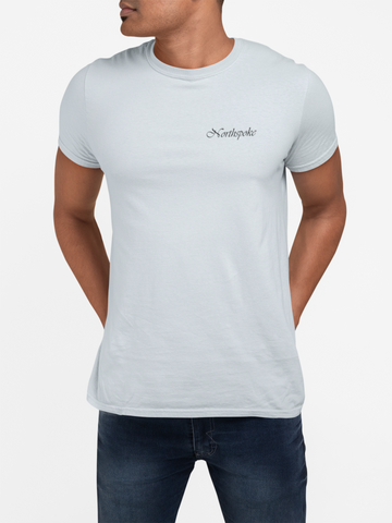 Men's Signature Crew Neck Tee - Ice