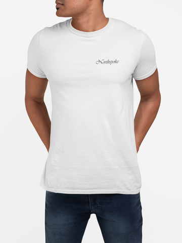 Men's Signature Crew Neck Tee - White