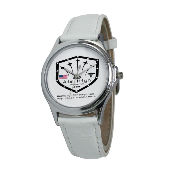 New! Aim High Women`s Leather Watch